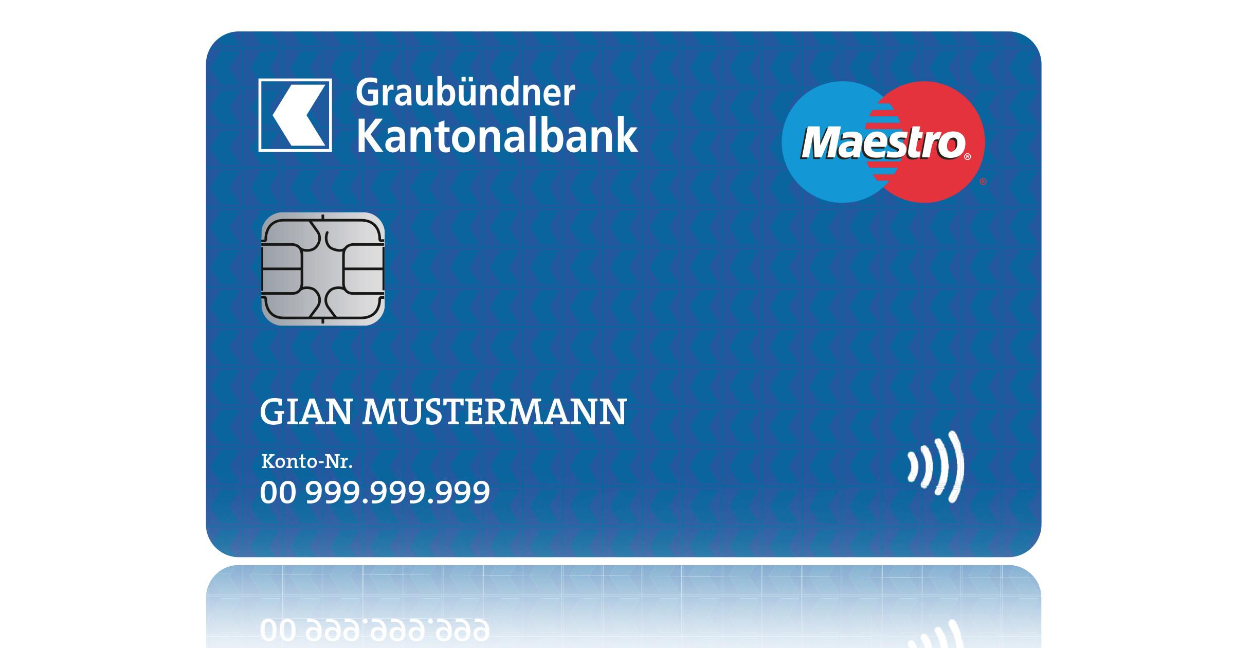 Sicherheitscode Maestro Karte